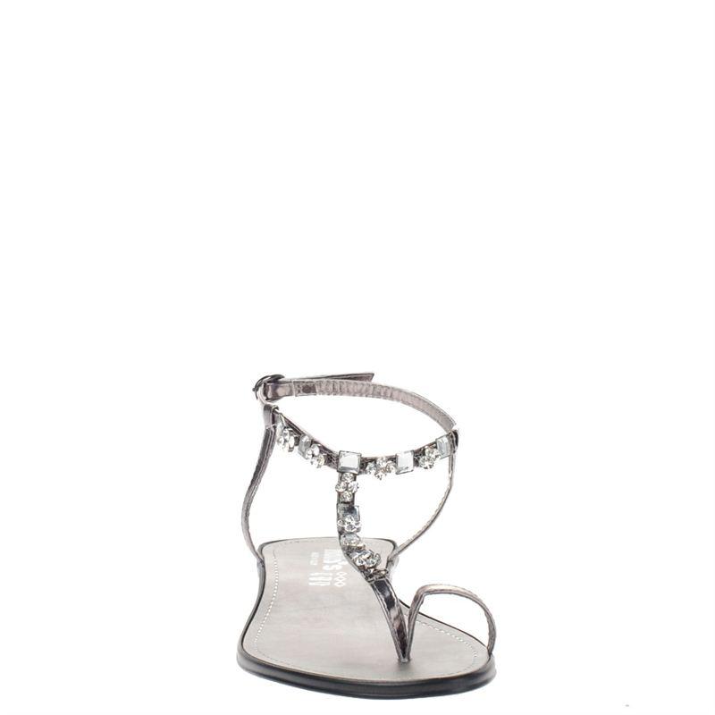 Hobb's dames sandalen zilver, 261.460.10-92-3