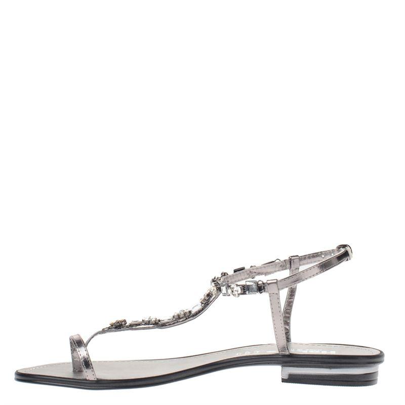 Hobb's dames sandalen zilver, 261.460.10-92-4