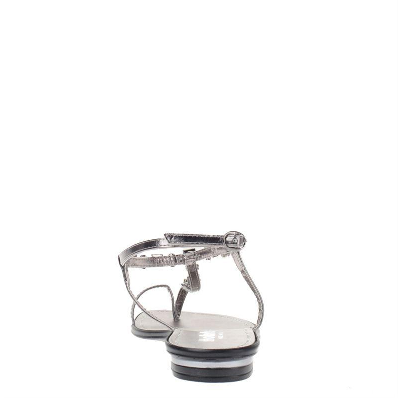 Hobb's dames sandalen zilver, 261.460.10-92-5