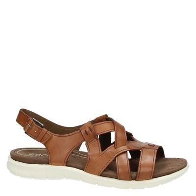 Ecco Babettdames sandalen Cognac