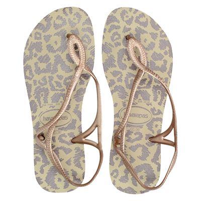 Havaianas luna dames sandaal dierenprints zijn dit seizoen niet weg te denken uit het modebeeld! heb jij al ...