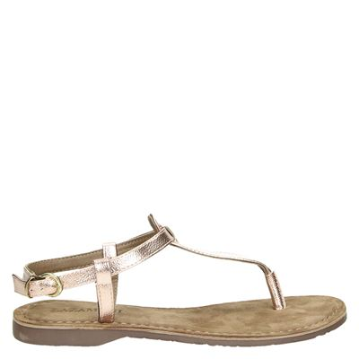 Lazamani dames sandalen rose goud