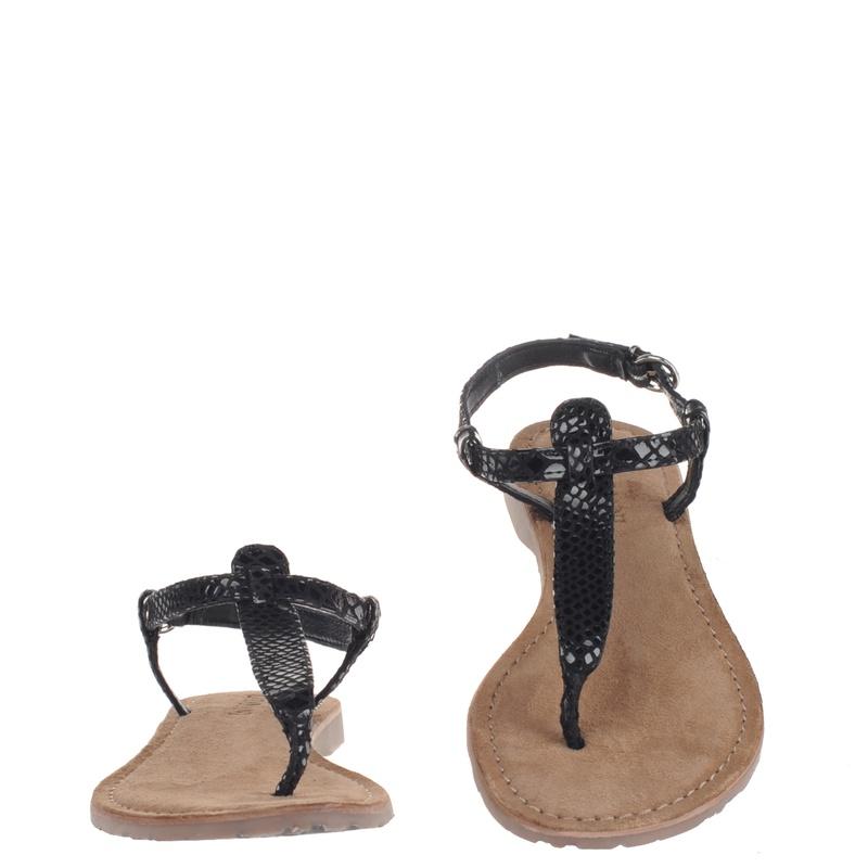 Lazamani - Sandalen - Zwart