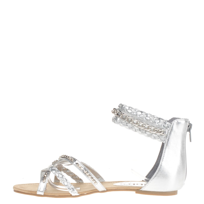 zilveren sandalen dames