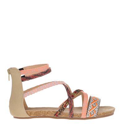 La Strada dames sandalen oranje
