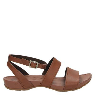 Timberland dames sandalen cognac