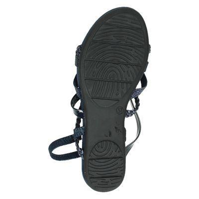Marco Tozzi dames sandalen Blauw