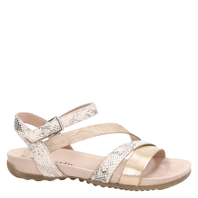 Tamaris sandalen roze Damesschoenen.nl