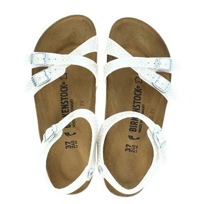 Birkenstock dames sandalen wit
