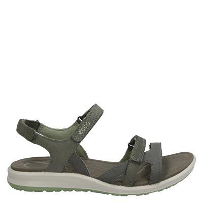 Ecco dames sandalen taupe