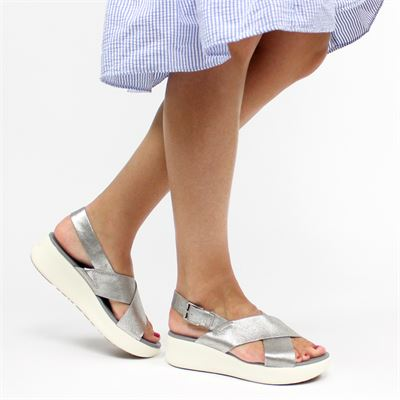 Timberland dames sandalen zilver