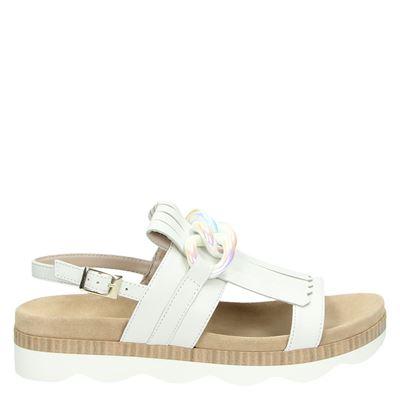 Tosca Blu dames sandalen wit