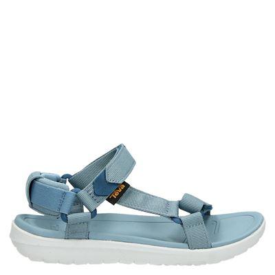 Teva dames sandalen blauw