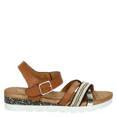Hobb's dames sandalen bruin