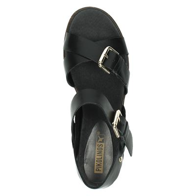 Pikolinos dames sandalen Zwart