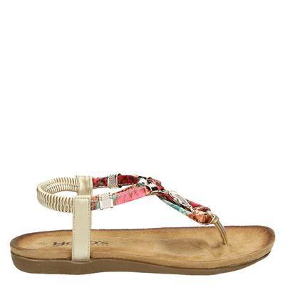 Hobb's dames sandalen goud