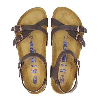 Birkenstock dames sandalen bruin
