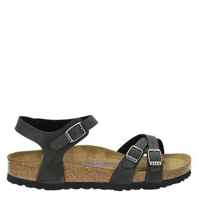 Birkenstock dames sandalen zwart