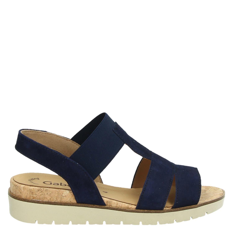 Gabor dames sandalen blauw