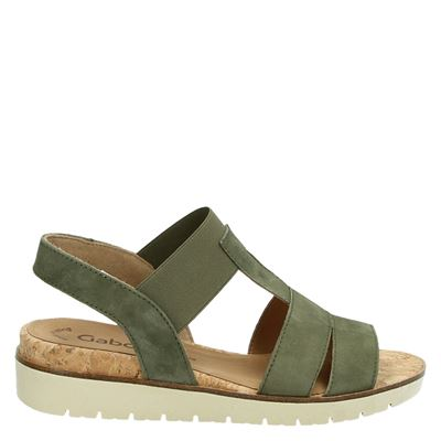 Gabor dames sandalen groen