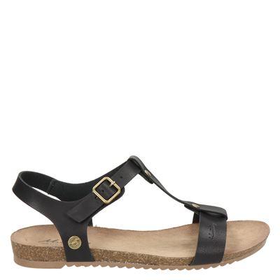 Mustang dames sandalen zwart