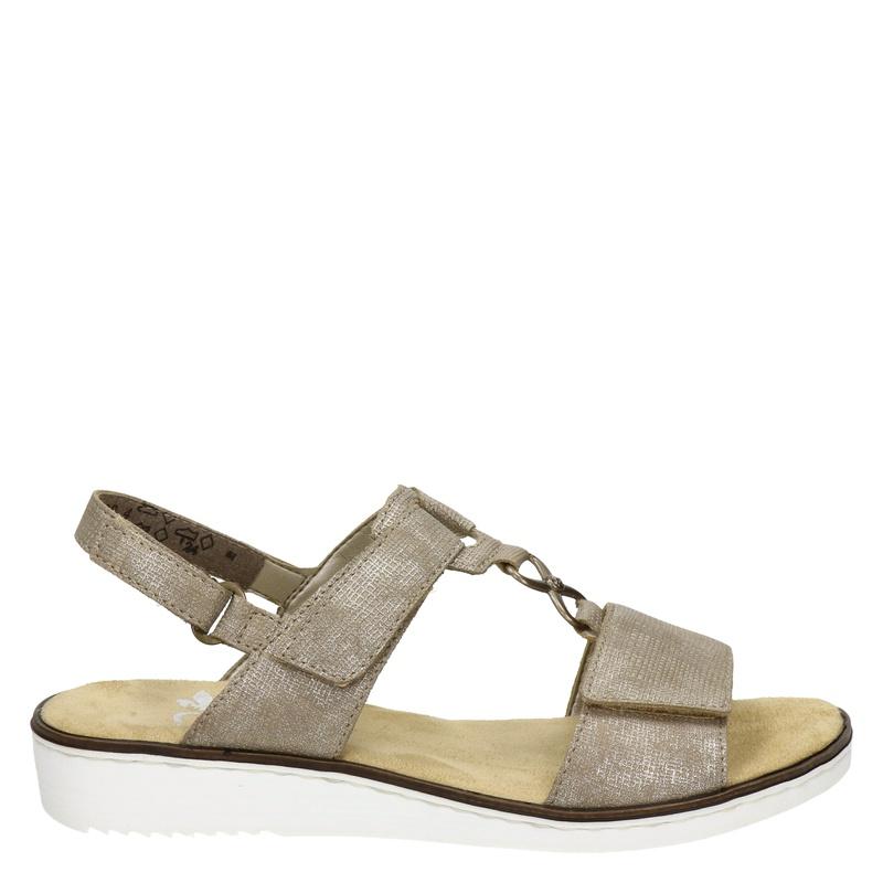 Rieker schoenen in het taupe kopen? Nelson.nl