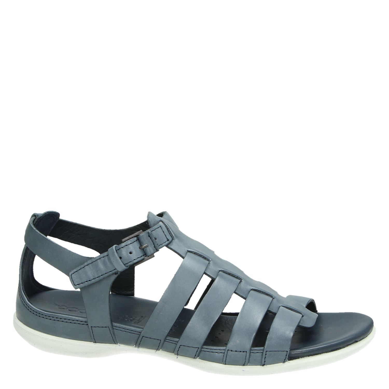 Ecco Flash sandalen blauw Damesschoenen.nl
