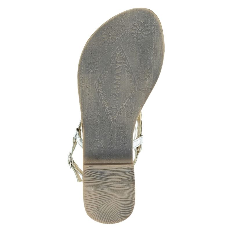 Lazamani - Sandalen - Zilver