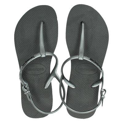 Havaianas dames sandalen zilver