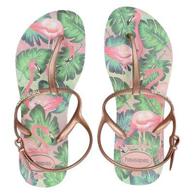 Havaianas dames slippers rose goud