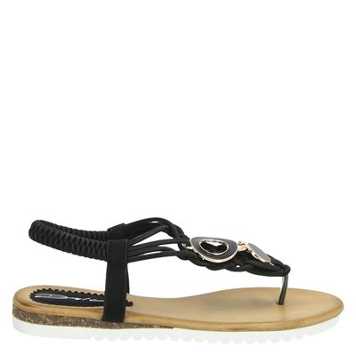 Dolcis dames sandalen zwart