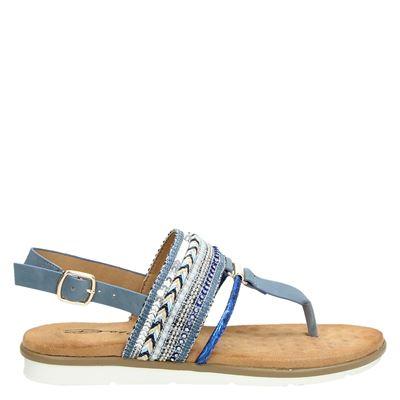 Dolcis dames sandalen blauw