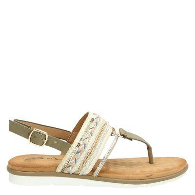 Dolcis dames sandalen groen