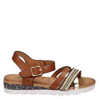 Dolcis dames sandalen cognac