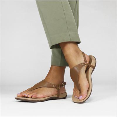 Vionic dames sandalen bruin