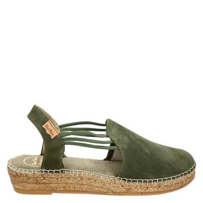 Toni Pons dames espadrilles kaki