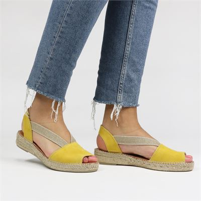 Toni Pons dames espadrilles geel