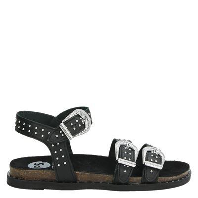 PS Poelman dames sandalen zwart