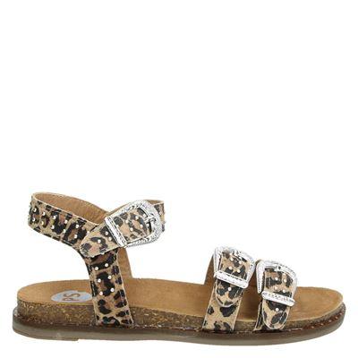PS Poelman dames sandalen bruin