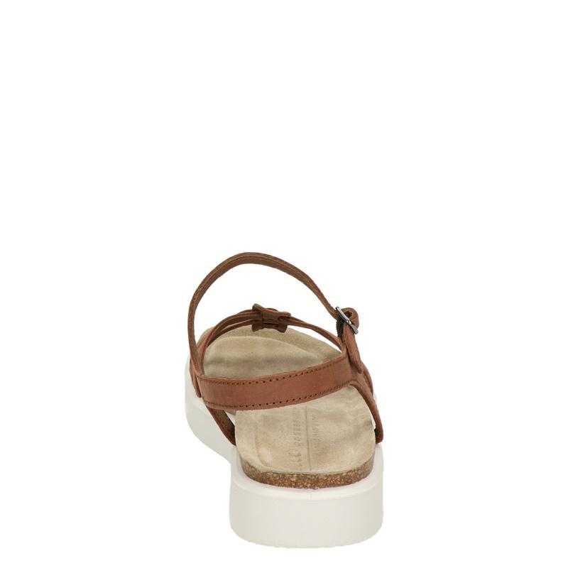 Ecco Corksphere - Sandalen - Cognac