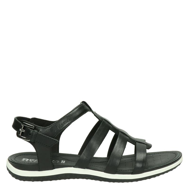 Geox dames sandalen in het zwart kopen? Nelson.nl