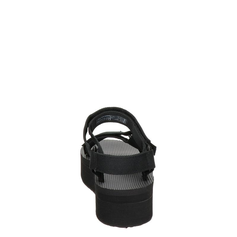 Teva Flatform Universal - Sandalen - Zwart
