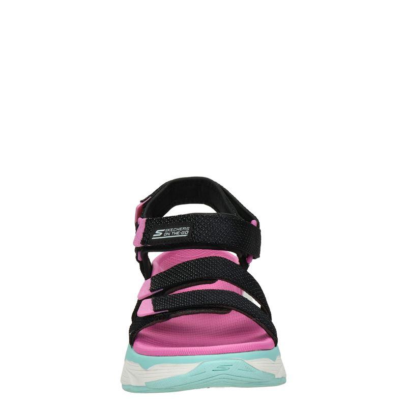 Skechers Max Cushioning - Sandalen - Zwart