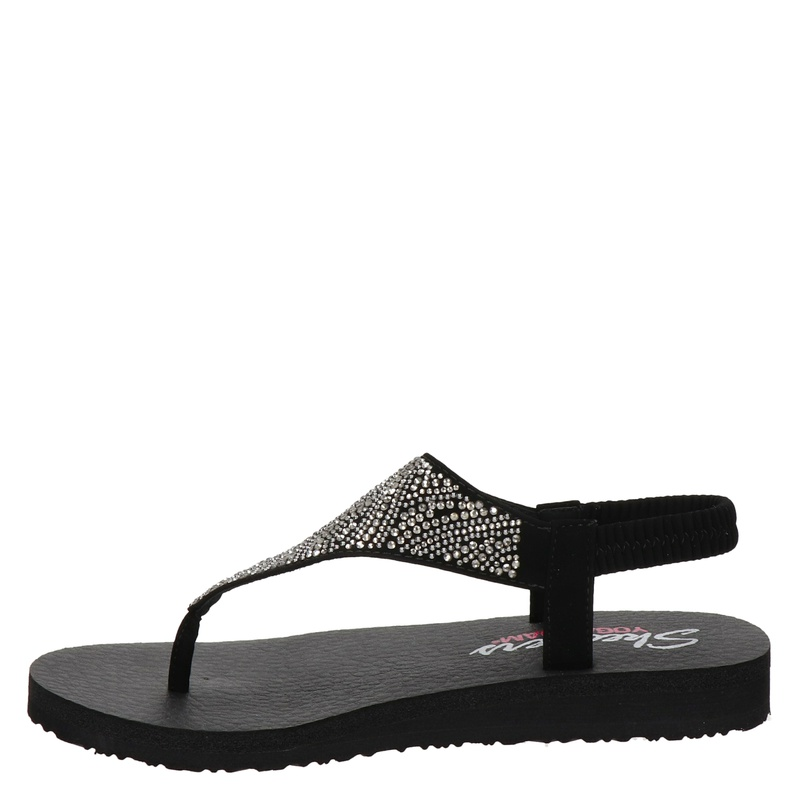 Skechers Meditation - Sandalen - Zwart