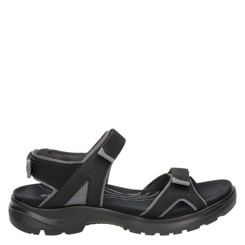 Ecco Yucatan leren outdoor sandalen zwart online kopen