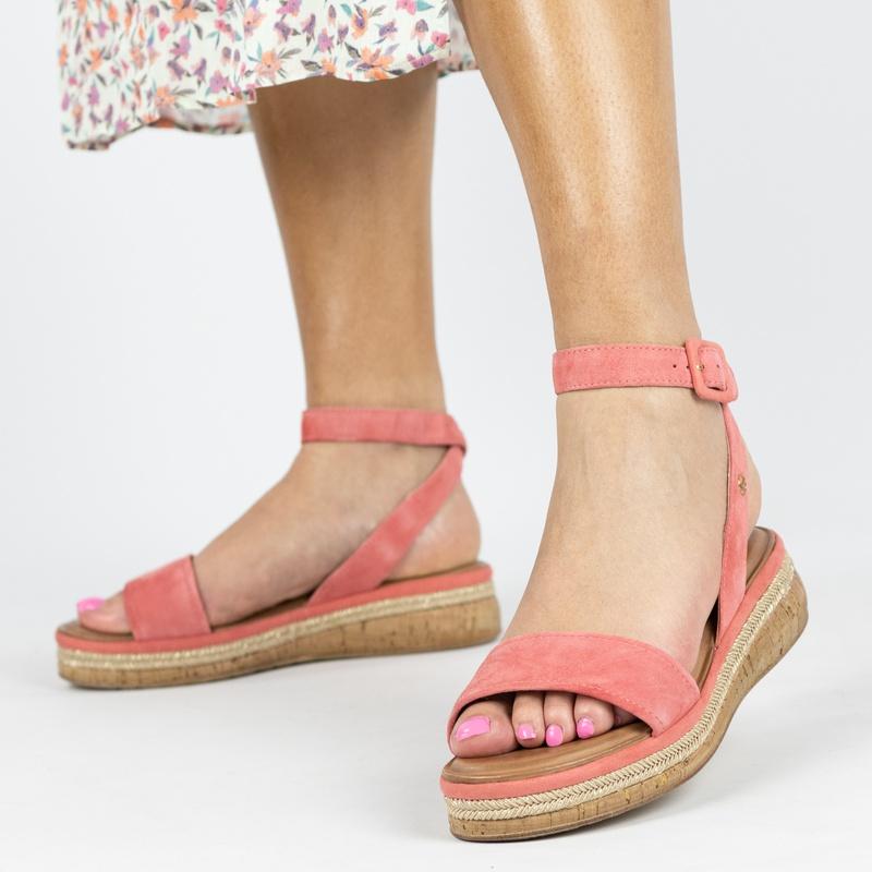 Tamaris - Sandalen - Roze