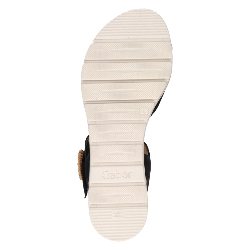 Gabor - Sandalen - Zwart