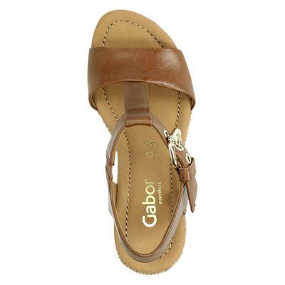 Gabor dames sandalen Cognac