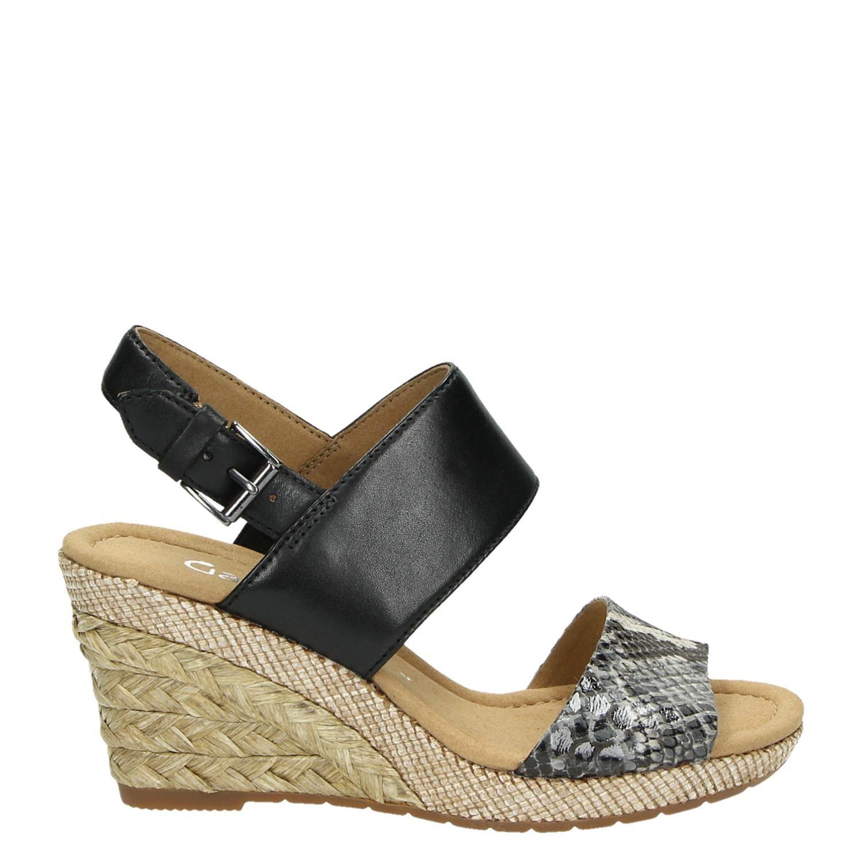 sandalen gabor zwart