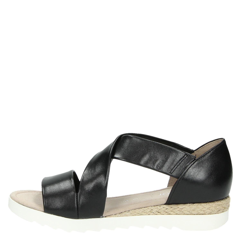 d612e174cf9060 Gabor dames sandalen zwart